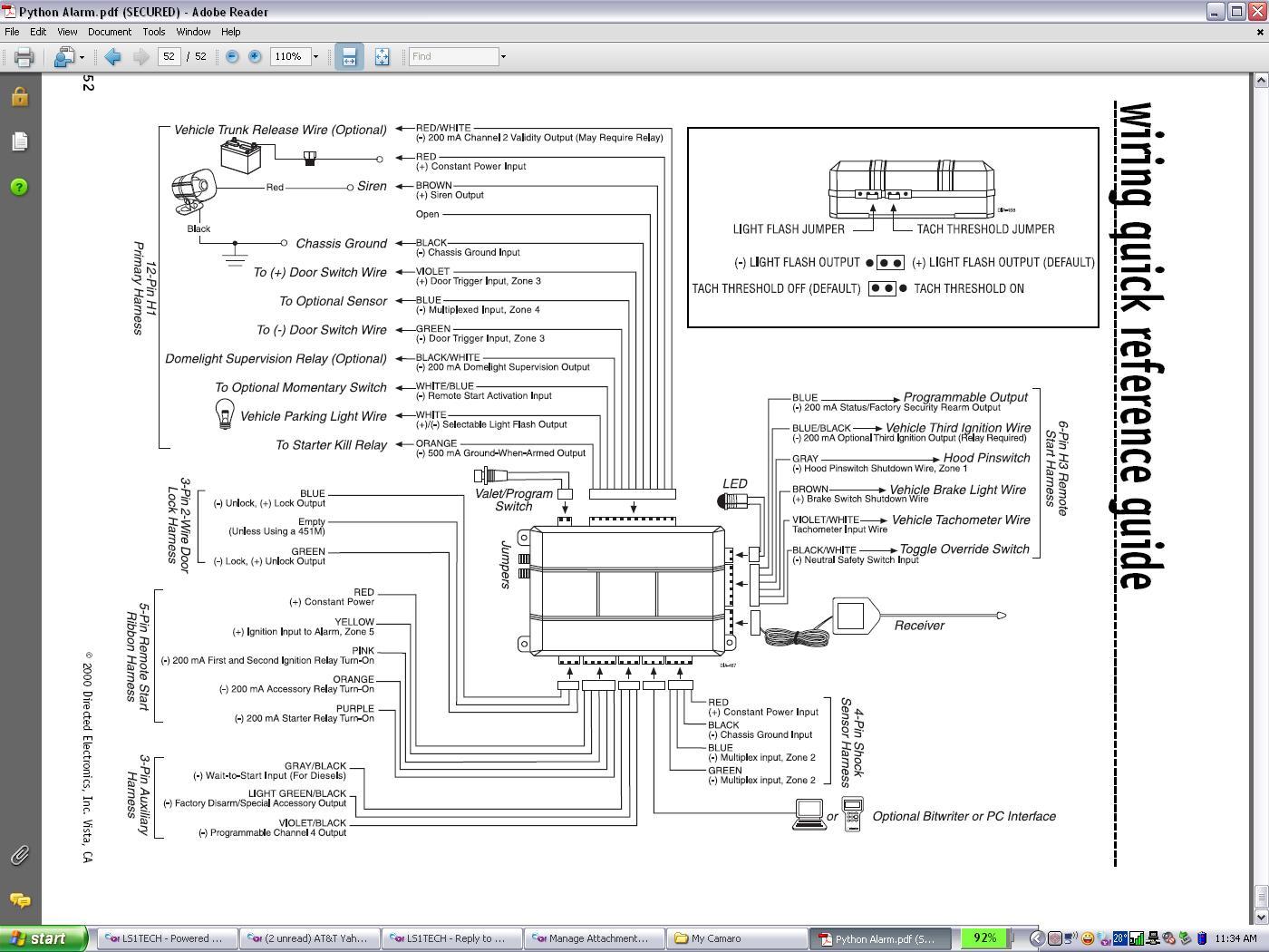 MH_1750] Viper 550Esp Auto Alarm With Remote Start In My 2000 Gmc Sierra Schematic  WiringPonol Phae Mohammedshrine Librar Wiring 101