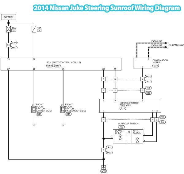Asc Sunroof Wiring Diagram