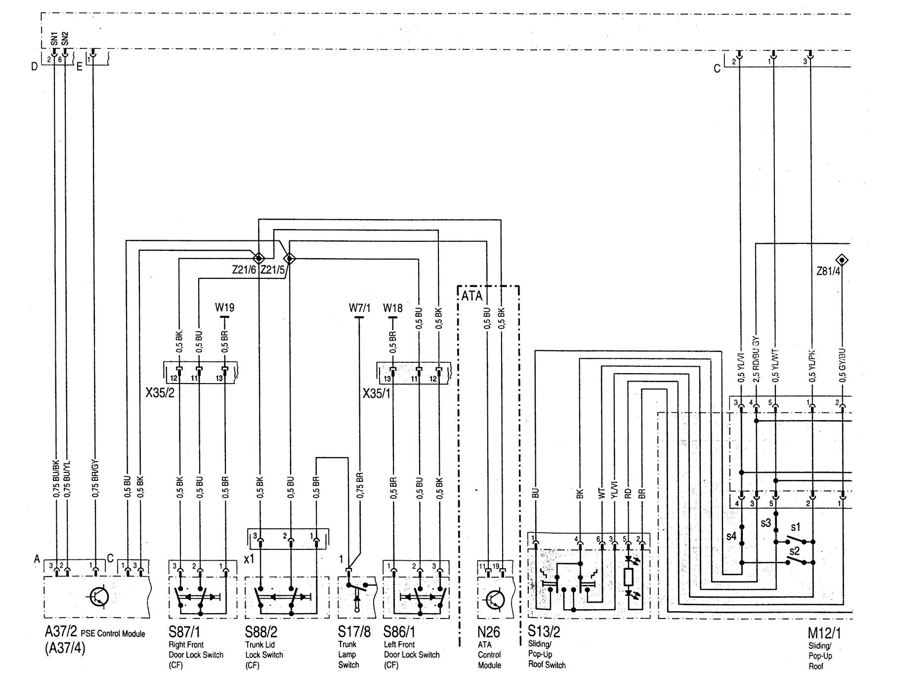 Integra Sunroof Wiring Diagram - Wiring Diagram