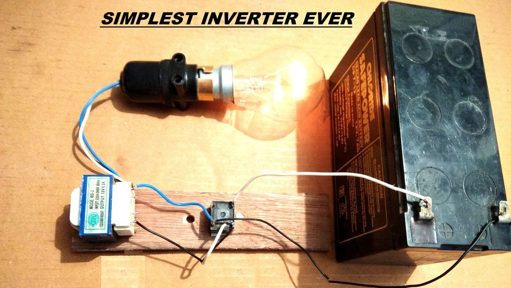 Peachy Simplest 12V To 220V Dc To Ac Power Inverter Diy 3 Steps With Wiring Cloud Hisonepsysticxongrecoveryedborg