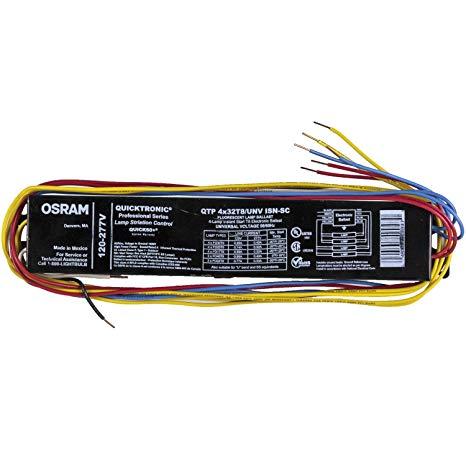 Pleasant Sylvania Osram 49908 Qtp4X32T8 Unv Isn Sc B T8 Fluorescent Wiring Cloud Loplapiotaidewilluminateatxorg