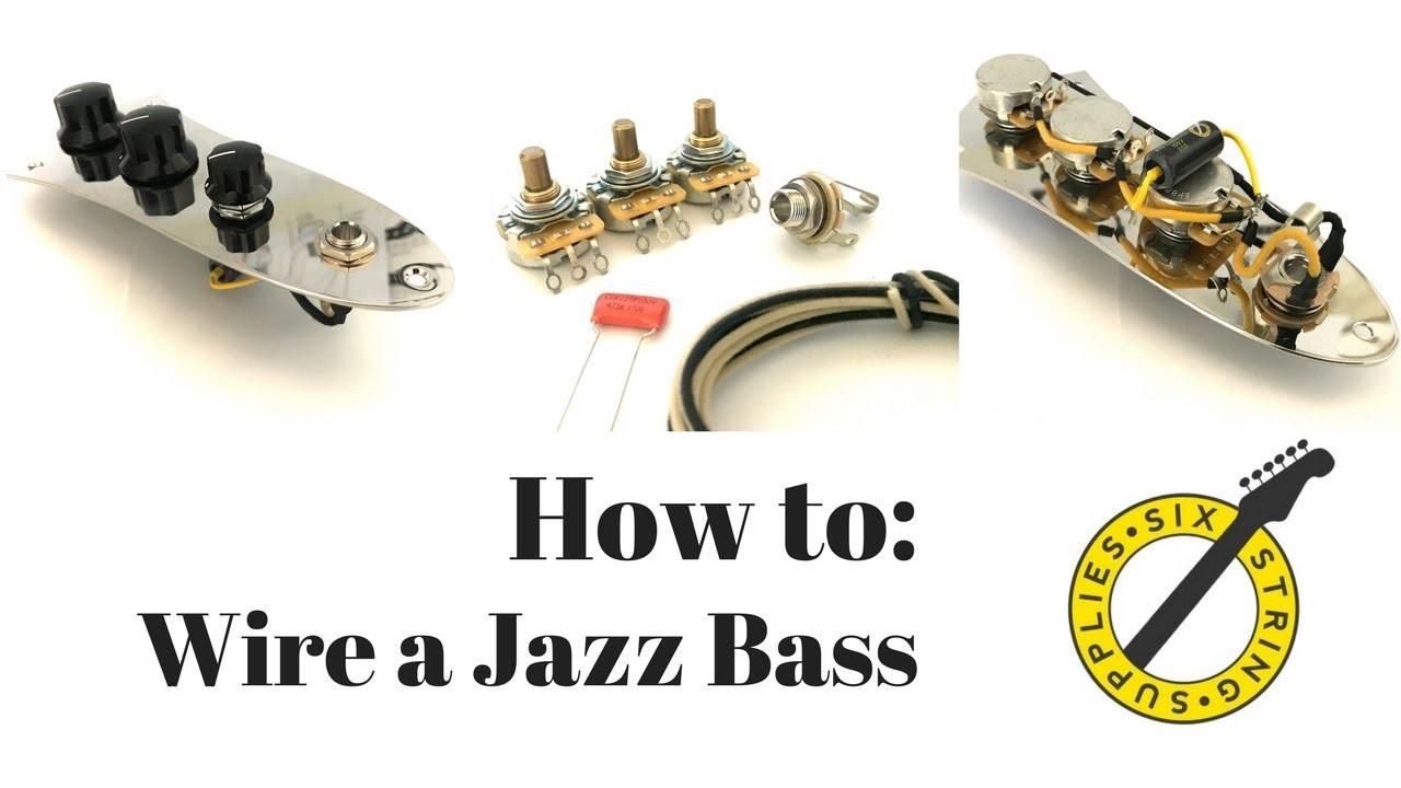 Wiring Diagram Squier Jazz Bass