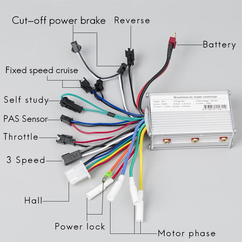 wiring diagram 350w bldc  access control system wiring