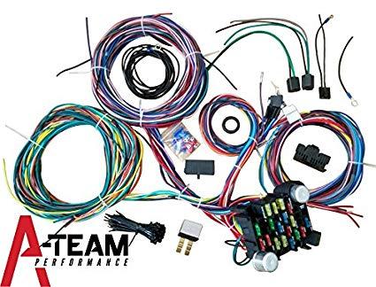 Stupendous Amazon Com A Team Performance 21 Standard Circuit Universal Wiring Wiring Cloud Histehirlexornumapkesianilluminateatxorg