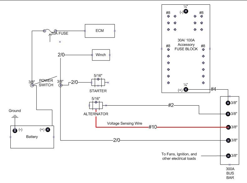 Wc 0028 1 Wire Alternator Schematic Wiring Diagram