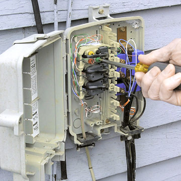 Box Wiring Furthermore Phone Wall Plate