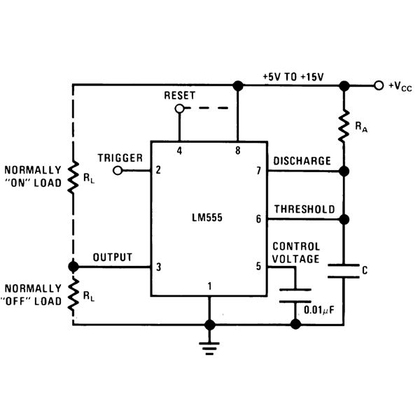 Terrific Best Of 555 Timer Application Circuits Explained Wiring Cloud Monangrecoveryedborg