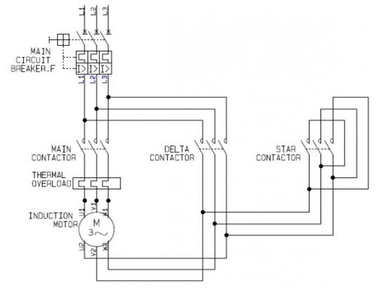 Outstanding 3 Phase Motor Wiring Diagram Star Delta Wiring Diagram Library Wiring Cloud Dulfrecoveryedborg