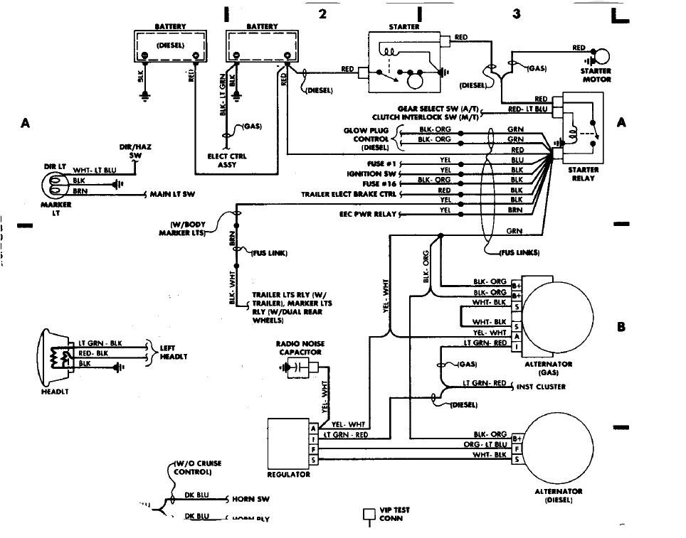1988 Ford F 150 Electrical Schematic