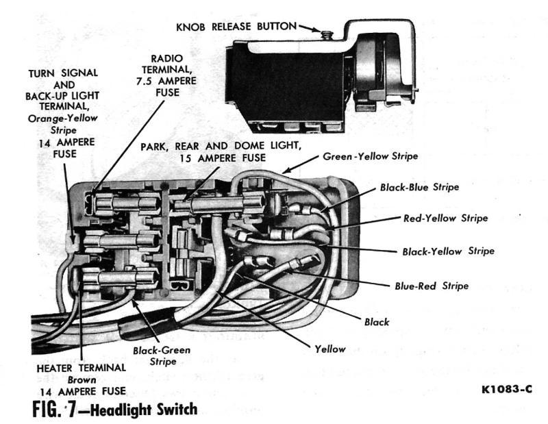 1964 mustang fuse box wiring ao 9117  1956 mercury fuse box free diagram  ao 9117  1956 mercury fuse box free diagram