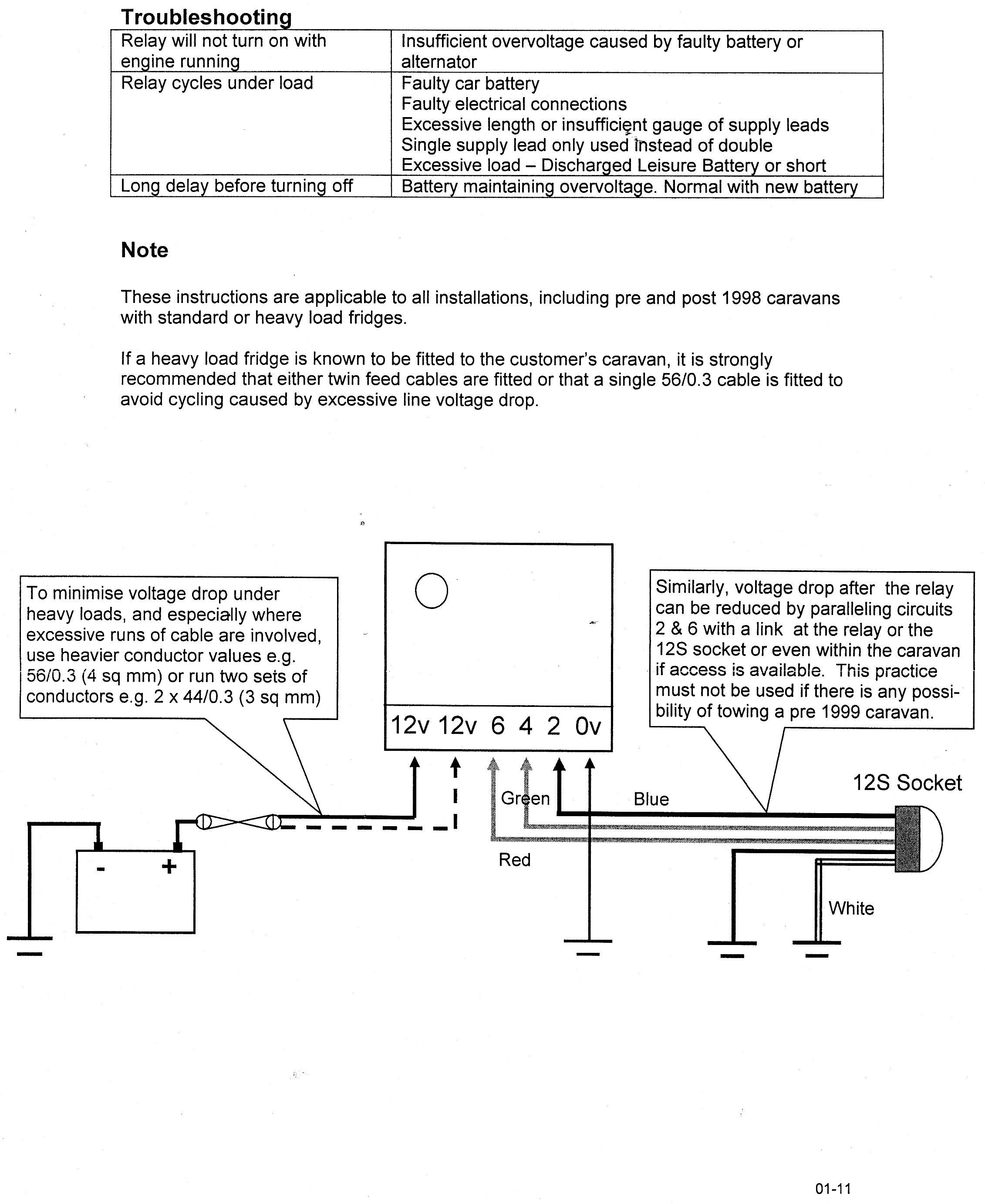 Ck 1325 Tec3m Split Charge Relay Wiring Diagram Universal