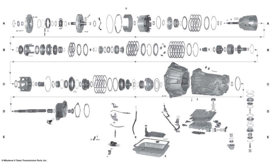 4l65e Parts Diagram - Wiring Diagram •wiring diagram