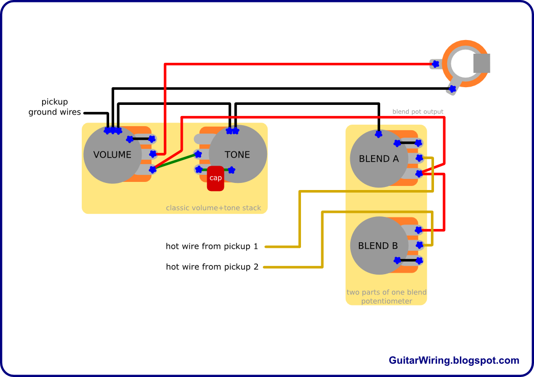 Fantastic The Guitar Wiring Blog Diagrams And Tips How To Wire A Blend Pot Wiring Cloud Biosomenaidewilluminateatxorg