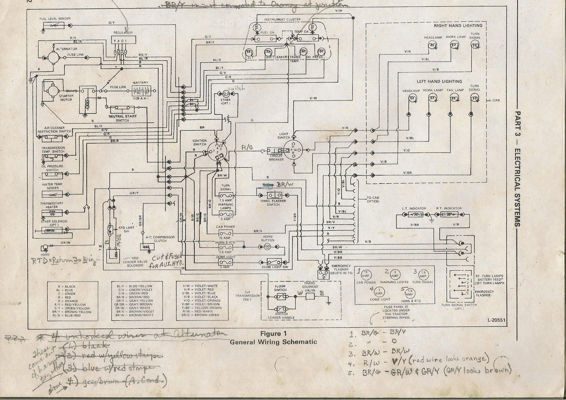 Pleasant Ford 1210 Wiring Wiring Diagram Wiring Cloud Overrenstrafr09Org