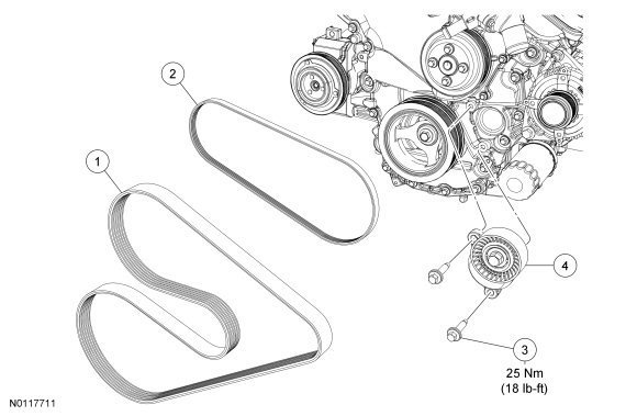 Remarkable The Serpentine Belt Can You H On 93 Ford Ranger Timing Belt Diagram Wiring Cloud Licukaidewilluminateatxorg