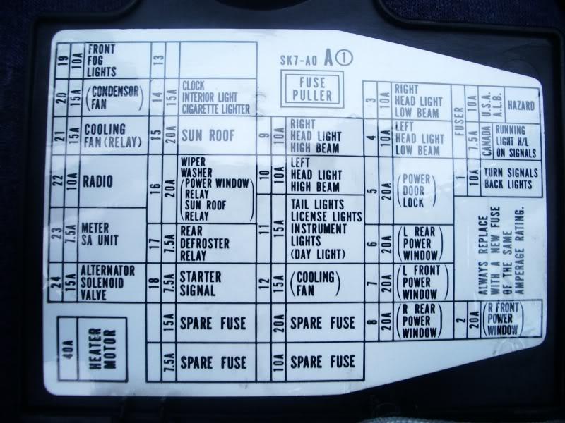 94 honda civic fuse panel diagram 90 honda accord fuse box diagram mania www thedotproject co  90 honda accord fuse box diagram
