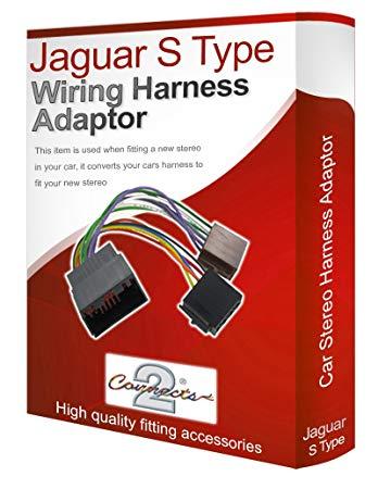 Incredible Jaguar S Type Cd Radio Stereo Wiring Harness Adapter Amazon Co Uk Wiring Cloud Hemtshollocom