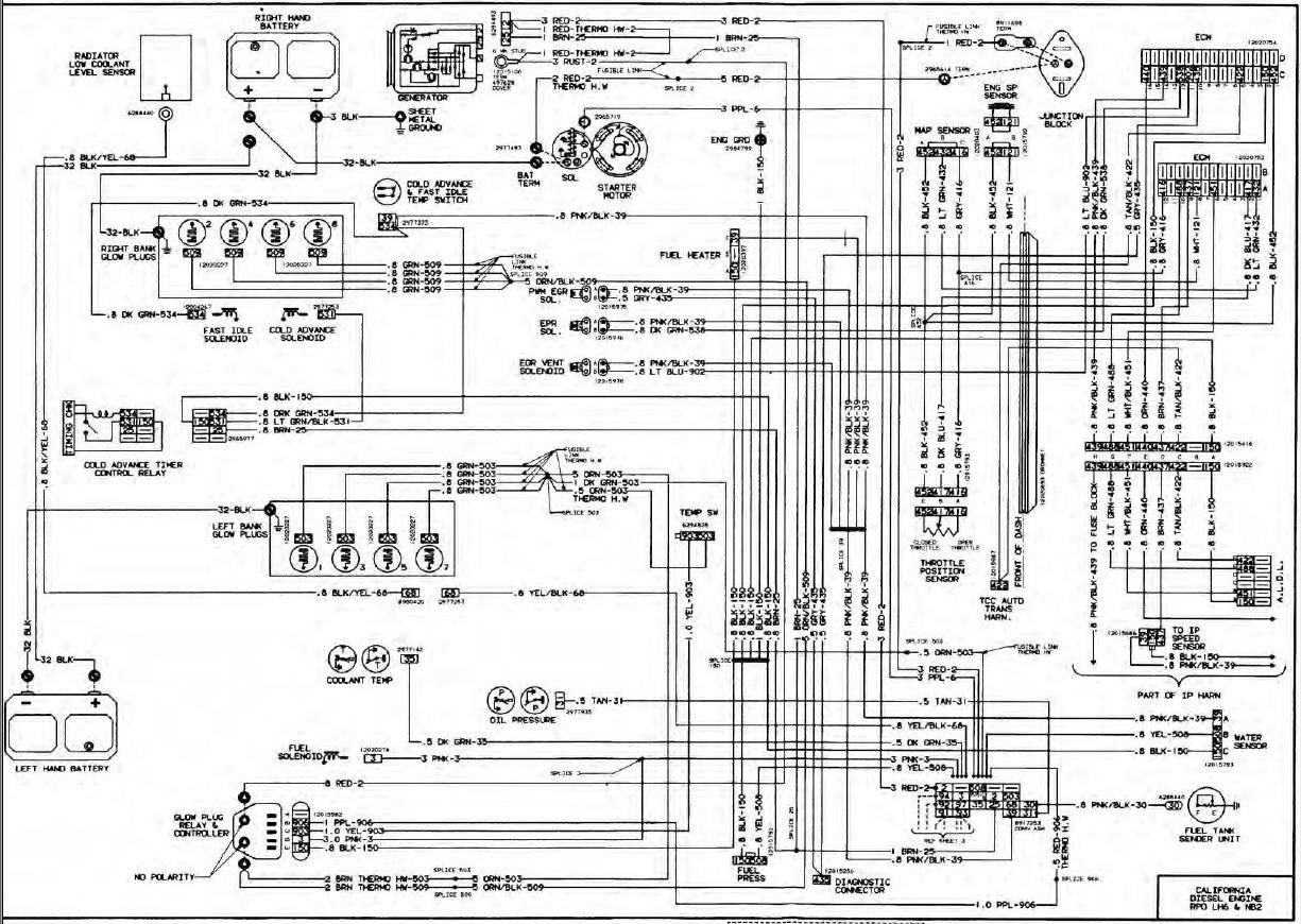 Wiring Diagram For 1985 Siverado