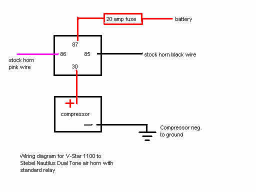 Sa 0472 Air Horn Wiring Diagram Switch Schematic Wiring