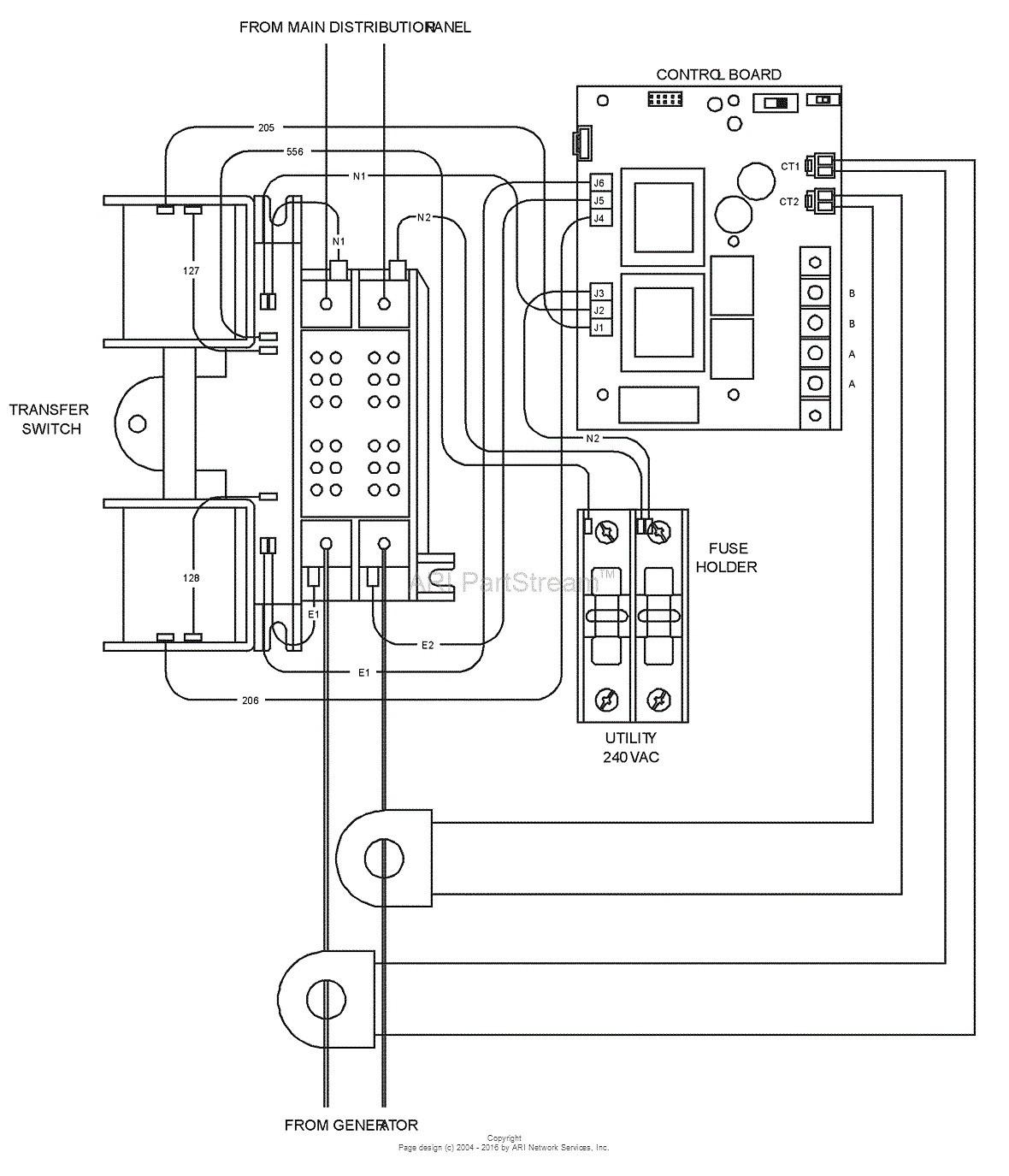 Pleasing Generac Rts Transfer Switch Wiring Diagram Standard Electrical Wiring Cloud Overrenstrafr09Org