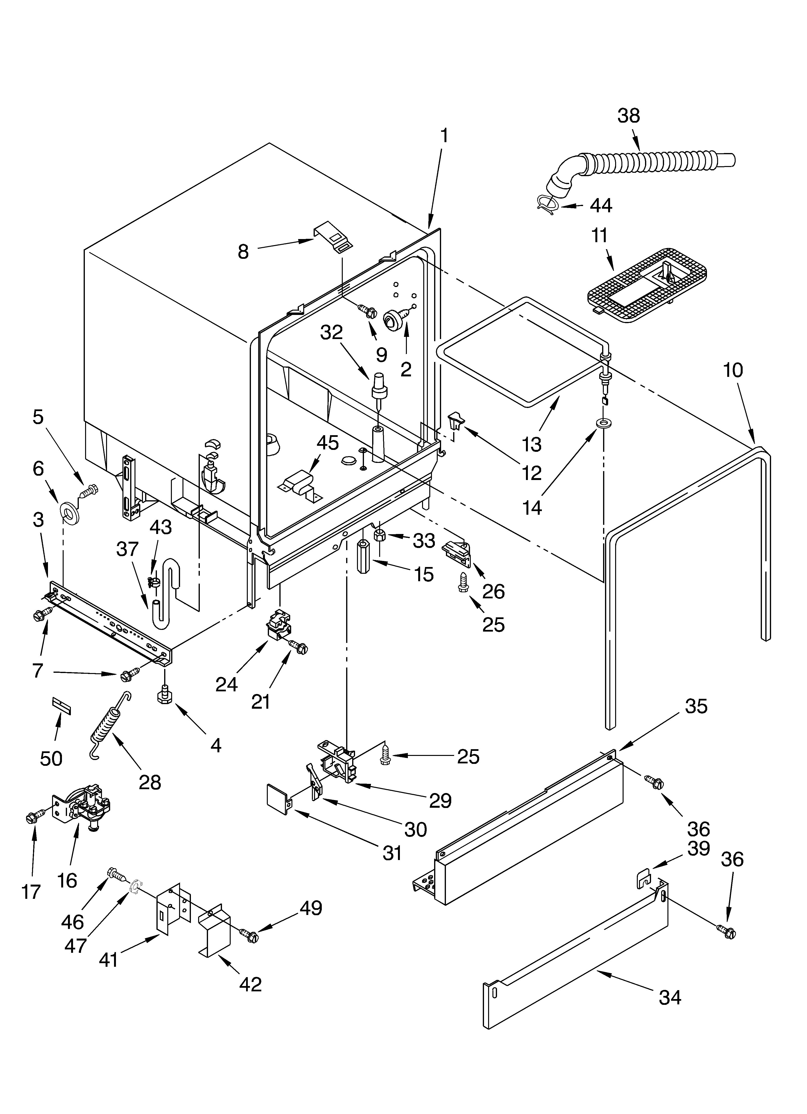 [DIAGRAM_3US]  LF_5018] Wiring Diagram Diagram And Parts List For Roper Dishwasherparts  Model Download Diagram   Roper Tractor Wiring Diagram      Funi Wigeg Mohammedshrine Librar Wiring 101