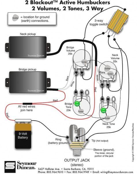 WW_8741] Activebass Wiring Diagram Emg 89 Wiring Diagram Emg 85 Wiring  Diagram Free DiagramMecad Trons Mohammedshrine Librar Wiring 101