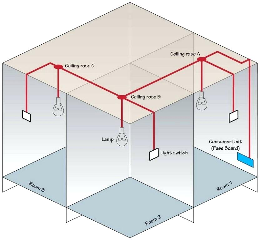 simple house wiring diagram za 5807  wiring diagram of a ceiling rose  za 5807  wiring diagram of a ceiling rose