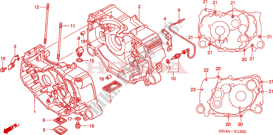 Honda 350 Atv Engine Diagram Wiring Diagram Van Usage Van Usage Agriturismoduemadonne It