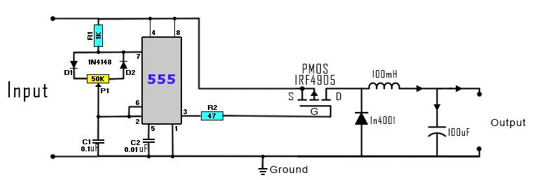 Pleasant Dc To Dc Buck Converter Circuit Homemade Arduino Wiring Cloud Domeilariaidewilluminateatxorg