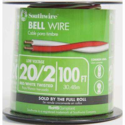 Miraculous Commercial Residential Doorbell Wire Wire The Home Depot Wiring Cloud Rdonaheevemohammedshrineorg